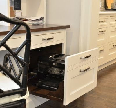 pullout drawer with shredder