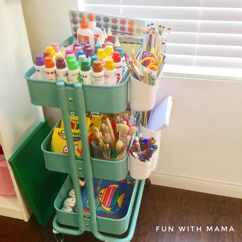 organize home work station