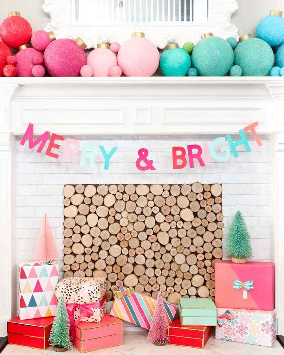preppy holiday decor